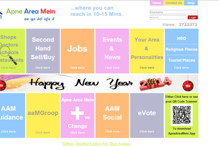 Find out more about your locality with ApneAreaMein.com