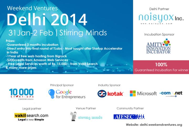 Weekend Ventures 2014 Delhi