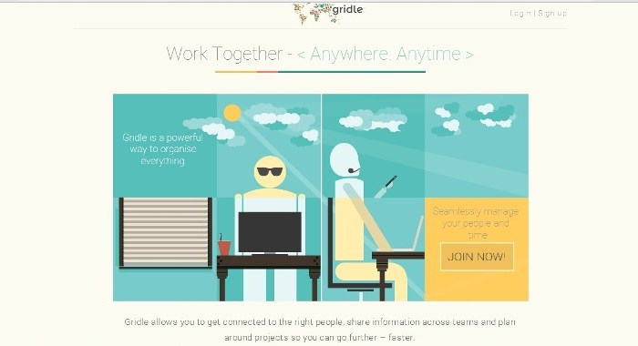 Cloud Collaboration Tool Gridle raises seed funding and launches in Public beta