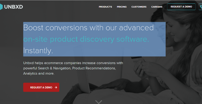 Unbxd - Helping eCommerce Companies improve conversions through onsite Product Discovery