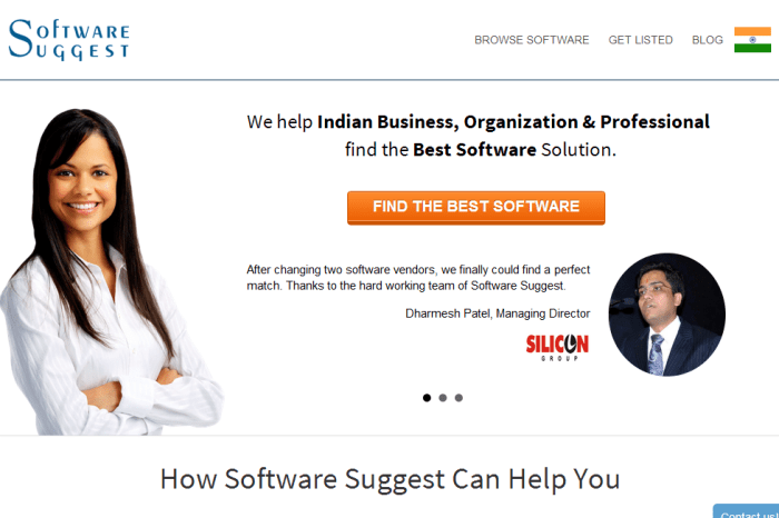 Softwaresuggest.com: Helping SME's to get Right Software for their Business