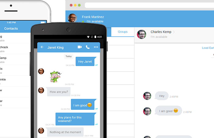 CometChat - A Multi-Platform Multi-User Chat Solution for Your Website and Mobile App