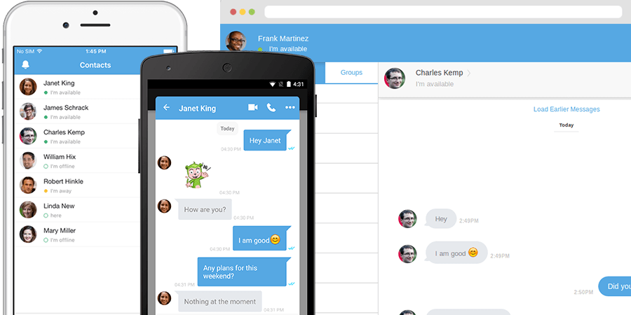CometChat Main Screen