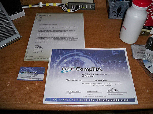 Reasons Why You Need to Earn CompTIA A+ Certificate