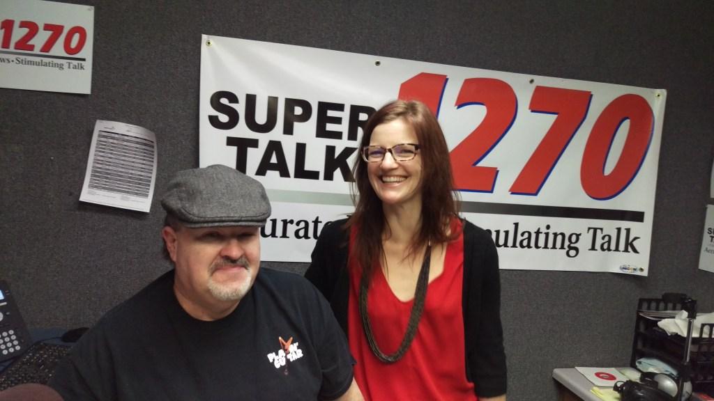 Beth Schatz Kaylor and Jim Walsh