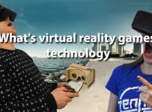 What's virtual reality games technology