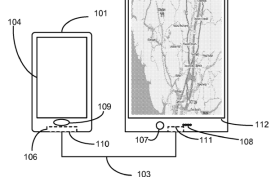 8,386,677 Communicating location information between a portable device and an accessory