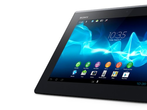 Sony IFA 2012: The new Xperia™ Tablet S