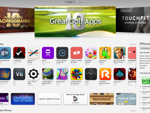 Apps from App Store | April 23, 2013