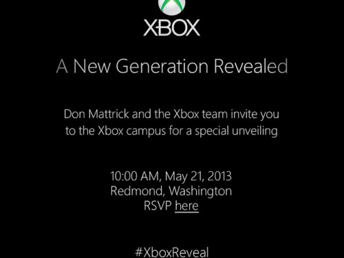Microsoft to Unveil its Next Generation Xbox on May, 21