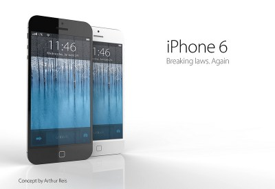iPhone 6 Concept Photos By Arthur Reis