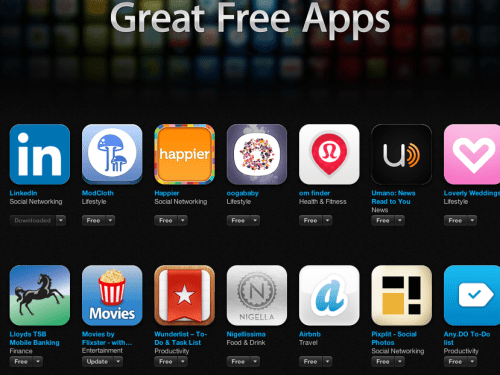 Apps from App Store | May 10, 2013