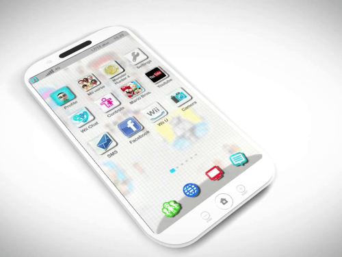 Introducing the latest Smartphone from Nintendo (Concept)