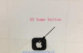 iPhone 5s Home button with Apple Logo