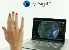 eyeSight Powers 3D Gesture Control with a Standard Camera