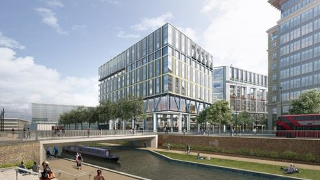 BBC: £650m Google UK HQ plans revealed for King's Cross