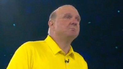 Video of Steve Ballmer's Tearful Goodbye to Microsoft