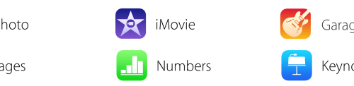 New iOS iWork & iLife icons Briefly Appeared on Apple's Website
