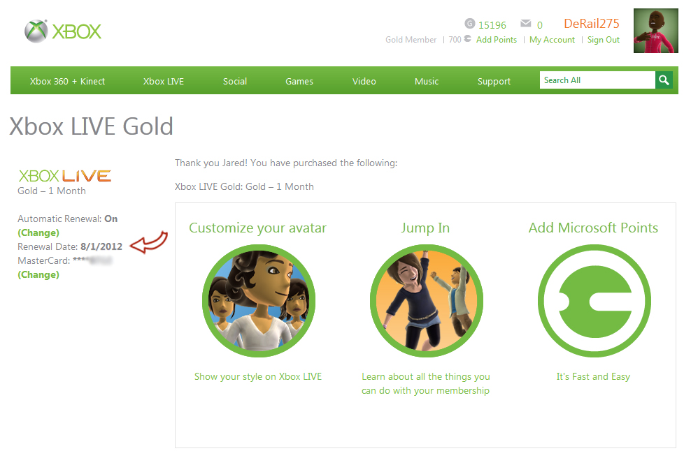 xbox live, gold, membership, derail 275, android, market, app,