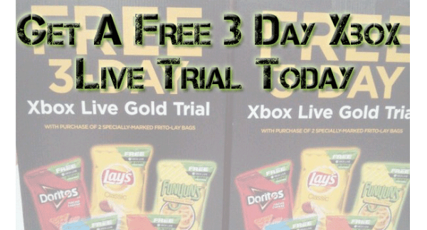 Free 3 Day Xbox Live Gold Trial