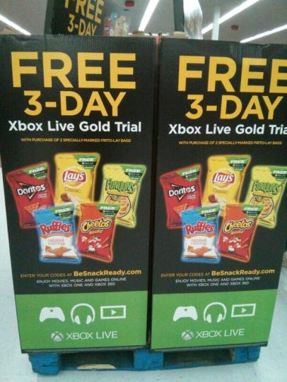 The Tech Temple Xbox Live 3-Day Gold Trial