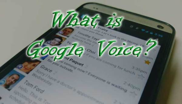 Google Voice Explanation