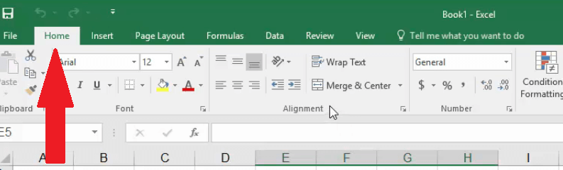 excel merge cells