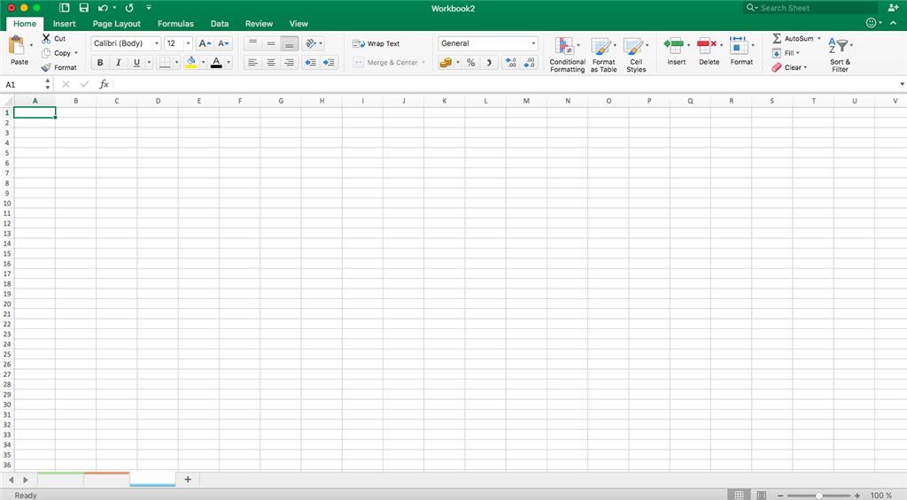 Blank Microsoft Excel Sheet The TechVin