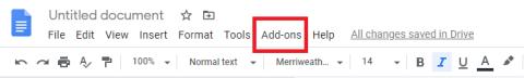 How to Alphabetize in google docs