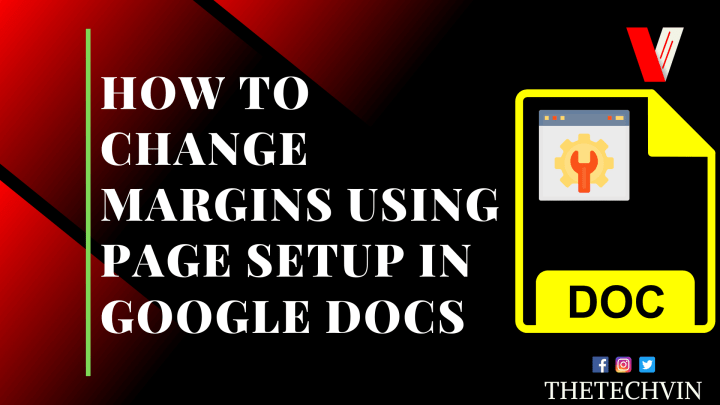 How to Change Margins accurately using page setup