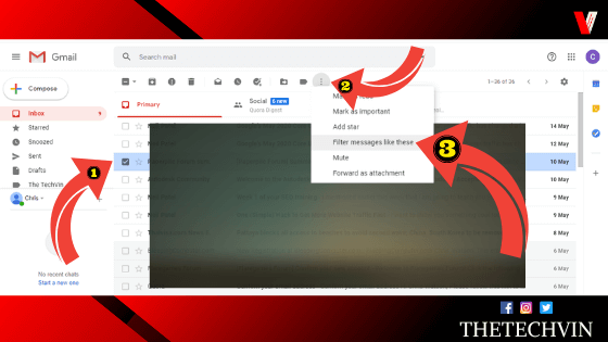 how do i make emails go to a specific folder in gmail?