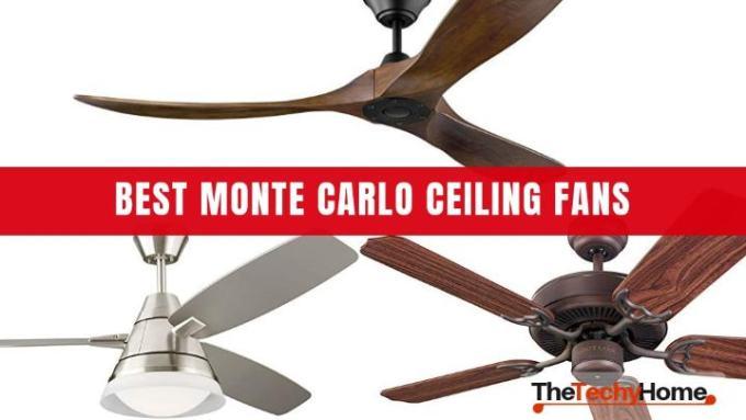 Monte Carlo Ceiling Fans Manual