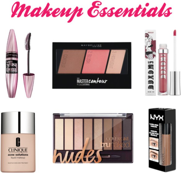 BACK TO SCHOOL Makeup Essentials 2016