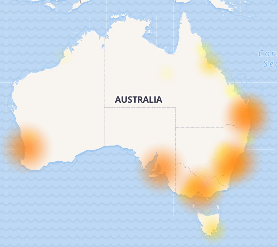 15/01/2019 National Outage