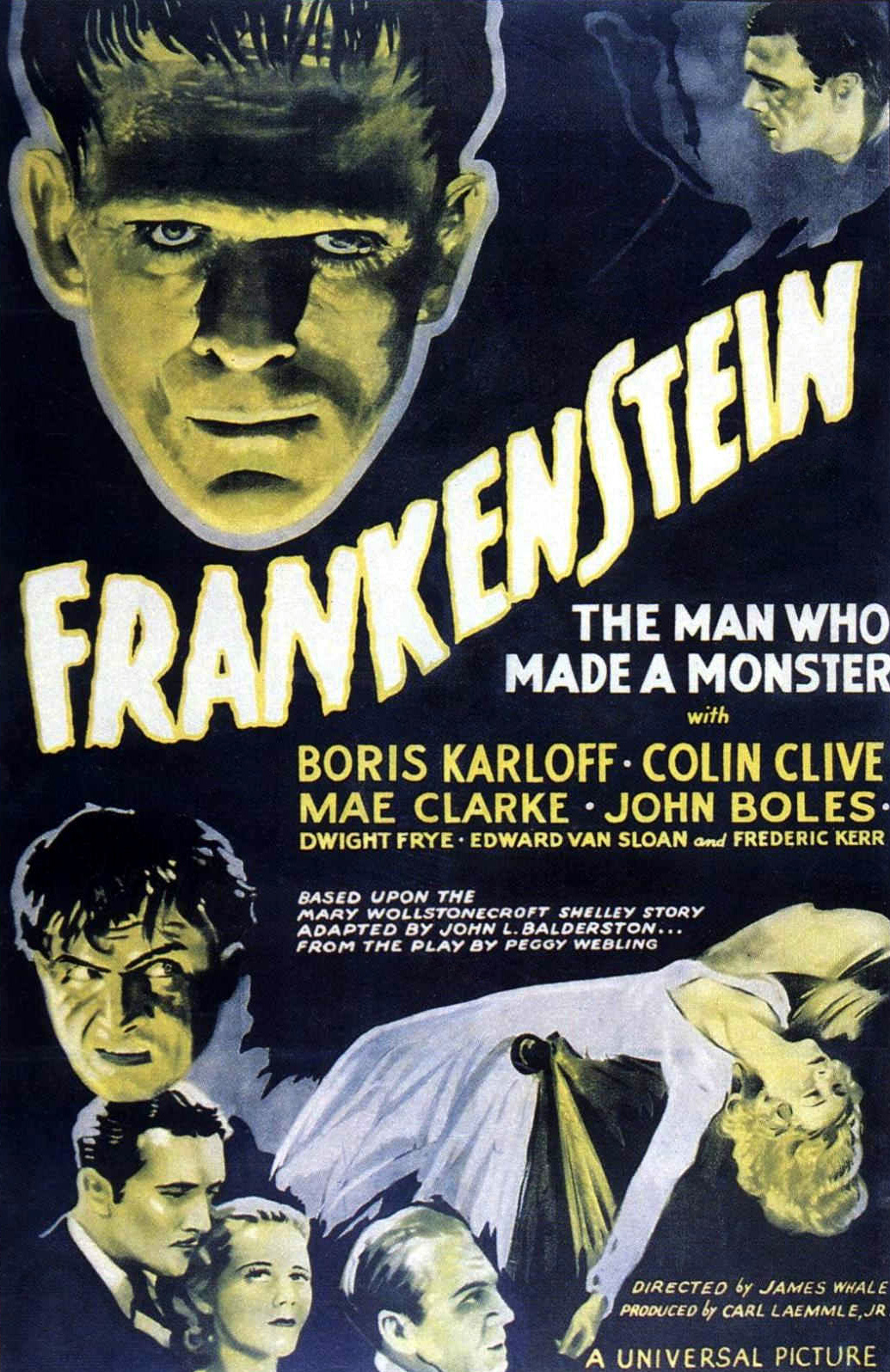 Poster do filme Frankenstein (1931)