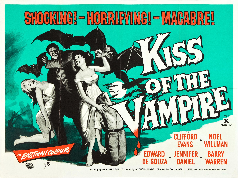 Poster do filme Kiss Of The Vampire