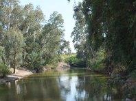 River Jordan in Israel visited today