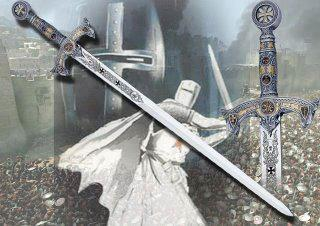 Templar with sword