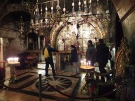 The site of the crucifixion