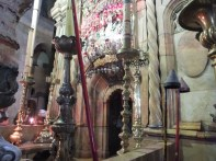 The tomb of Jesus - entrance