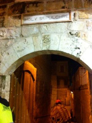 Archway to the Holy Sepulchre