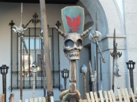 Skull and swords