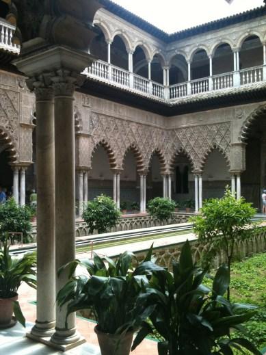 The Alcazar or ruler's home in Seville