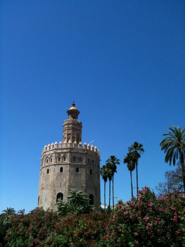 A Moorish tower in Seville