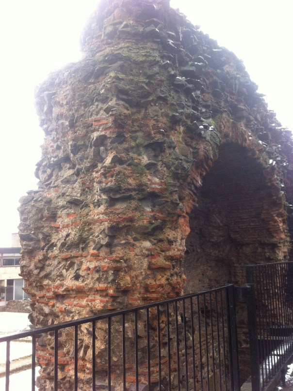 "The Roman ""Jewry"" wall"