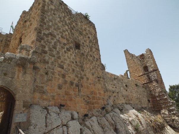The imposing walls