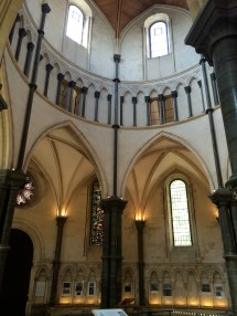 Knight Templar church in London