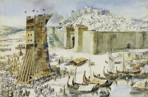 Siege_of_Lisbon_by_Roque_Gameiro