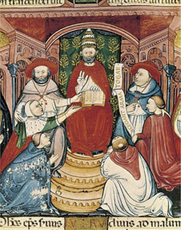 Pope Clement V in Avignon