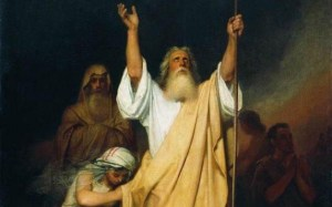 Moses Prays for Israel